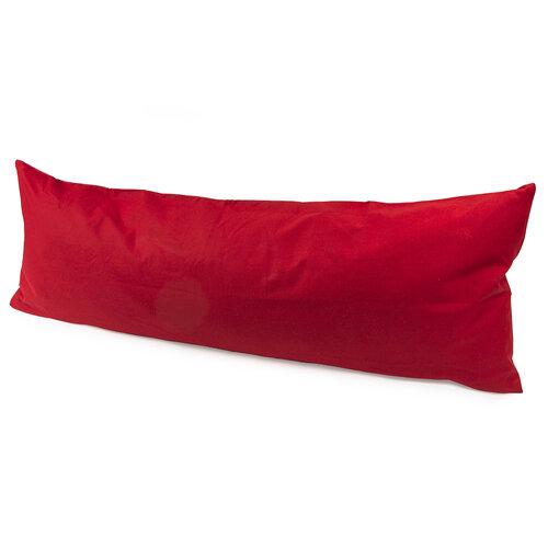 4Home Povlak na Relaxační polštář Náhradní manžel červená, 45 x 120 cm