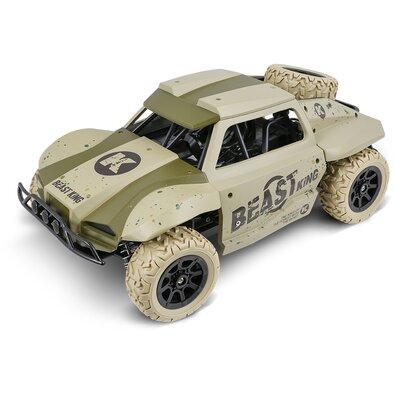 Buddy Toys BRC 18.522 Auto na diaľkové ovládanie RC Rally Racer, zelená