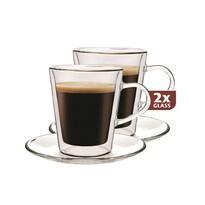 Maxxo Lungo 2-częściowy zestaw szklanek termicznych, 220 ml