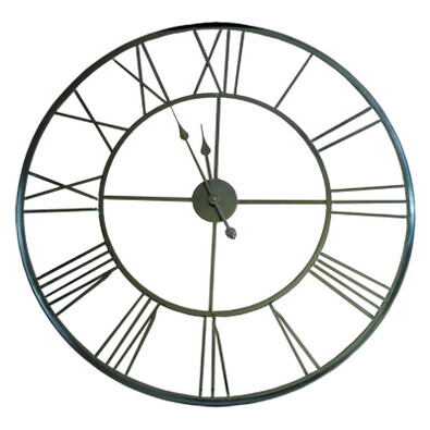 Nástěnné hodiny kovové