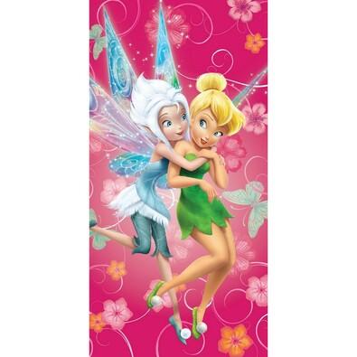 Osuška Fairies pinkie, 75 x 150 cm