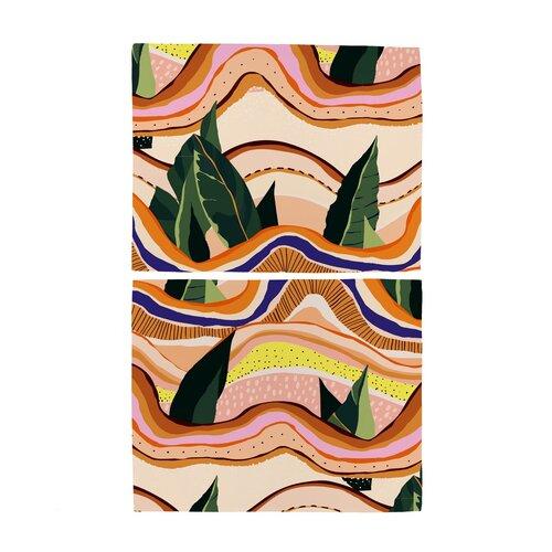 Butter Kings Prestieranie Abstract landscape, 35 x 45 cm, sada 2 ks