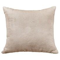Poduszka- jasiek Korall mikro, beżowa, 38 x 38 cm