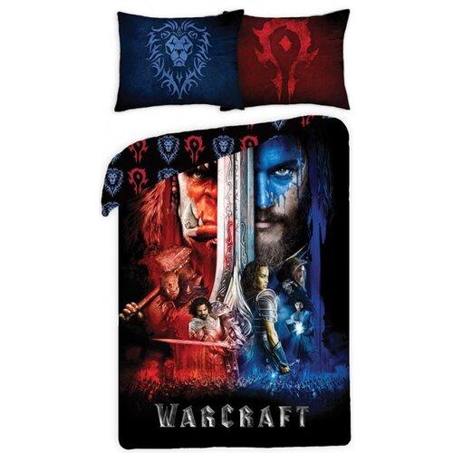 Halantex Povlečení Warcraft black bavlna 140x200, 70x90 cm