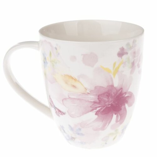 Porcelánový hrnek Flower, 490 ml