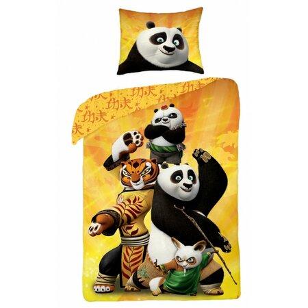 Detské bavlnené obliečky Kung Fu Panda, 140 x 200 cm, 70 x 90 cm