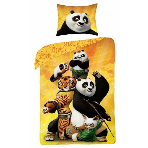 Halantex Dětské bavlněné povlečení Kung Fu Panda, 140 x 200 cm, 70 x 90 cm