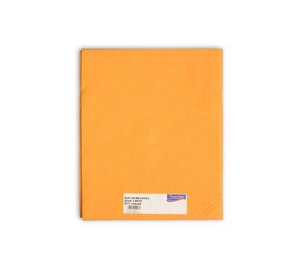 Utěrka Soft nebalená, oranžová, 50 x 60 cm
