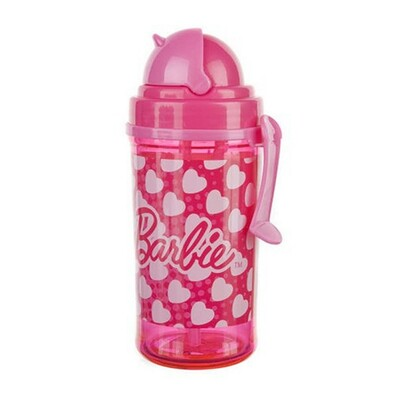 Banquet láhev s brčkem Barbie