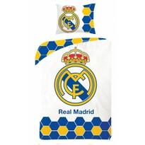 Bavlnené obliečky Real Madrid 5013, 140 x 200 cm, 70 x 90 cm