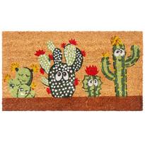 Kokosová rohožka Kaktusy, 40 x 70 cm