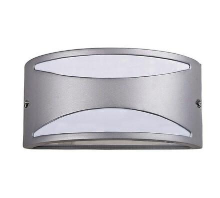 Venkovní nástěnné svítidlo Rabalux Manhattan stříb, stříbrná, 25 x 12 x 13,5 cm
