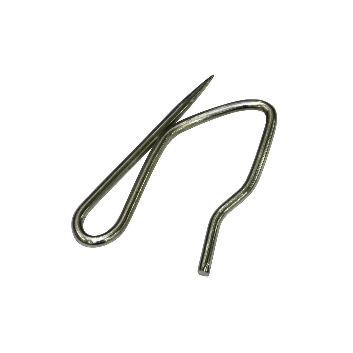 Gardinia Háček kovový šnek 28 mm, 25 ks