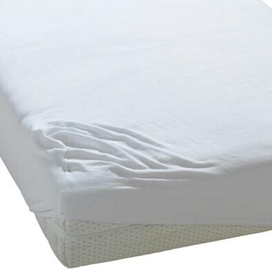 BedTex froté prostěradlo bílá, 180 x 200 cm