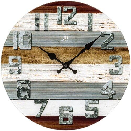 Lowell 14886 Designové nástěnné hodiny pr. 34 cm