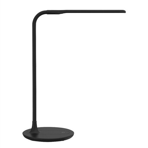 Solight WO49-B LED stolná stmievateľná lampička, čierna