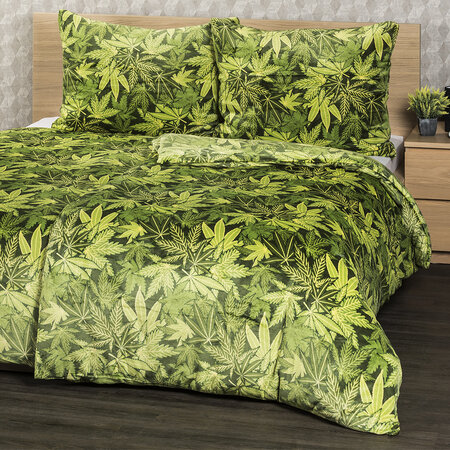 Lenjerie pat 1 pers. 4Home Aromatica, microflanel, 160 x 200 cm, 2x 70 x 80 cm