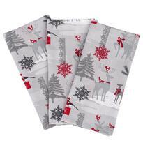 Vianočná utierka Winter Forest, 50 x 70 cm, sada 3 ks