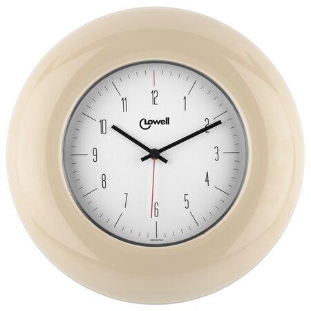 Lowell 03300C Designové nástěnné hodiny pr. 33 cm