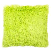 Povlak na polštářek Chlupáč Peluto Uni zelená, 40 x 40 cm