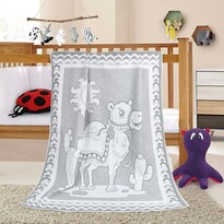 Dětská deka Nela Velbloud, 100 x 140 cm