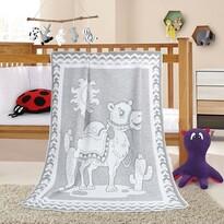 Pătură de copii Nela Cămilă, 100 x 140 cm