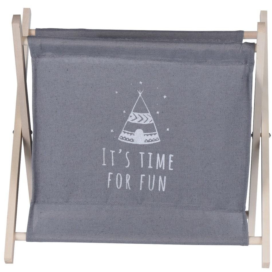 Úložný košík Child's dream šedá, 32 x 30 cm