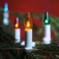 Lampki choinkowe Felicia kolorowy, 16 żarówek