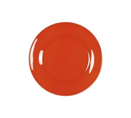 Dezertní talíř Rosso, 6 ks, oranžová, červená
