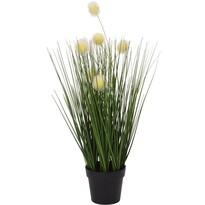 Sztuczna kwitnąca trawa Eleonore, 46 cm