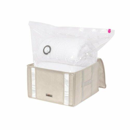 Compactor Cutie cu sac de depozitare în vid M Life, 42 x 40 x 25 cm imagine 2021 e4home.ro
