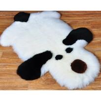 Domarex Kutya gyerek műszőrme szőnyeg fekete fehér, 50 x 80 cm