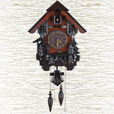 Nástenné hodiny kukačky 50 x 40 x 18 cm