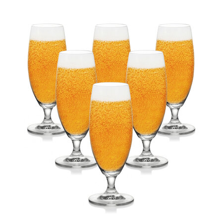 Tescoma Sada pohárov na pivo CREMA 300 ml, 6 ks
