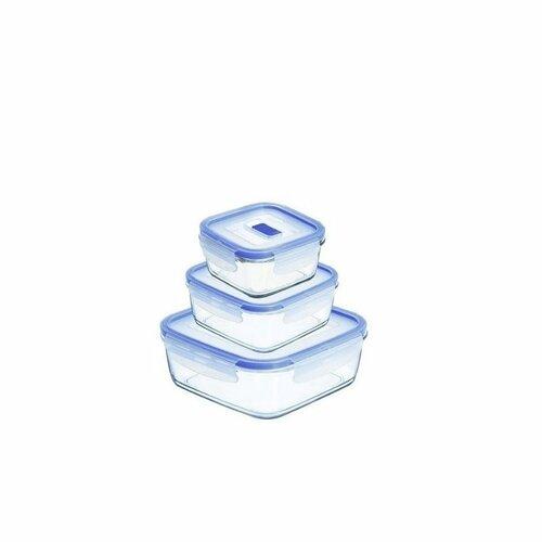 Luminarc 3-dielna sada dóz PURE BOX Active