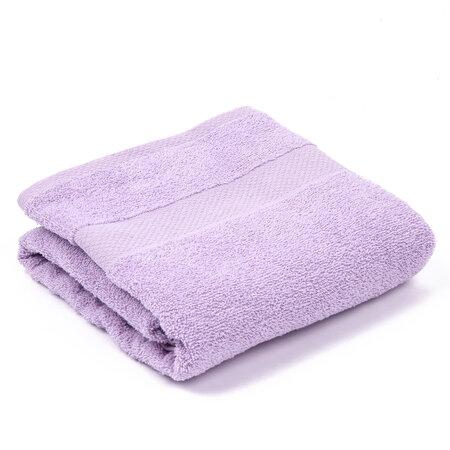 Ręcznik kąpielowy Olivia jasnofioletowy, 70 x 140 cm