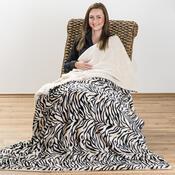 Beránková deka Tygr, 150 x 200 cm