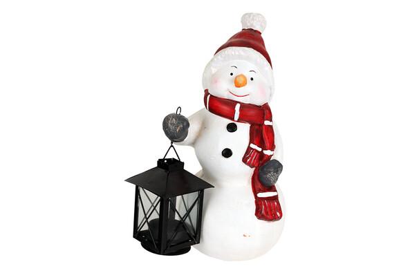 Sněhulák s lucernou