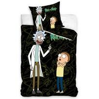 Bavlněné povlečení Rick and Morty, 140 x 200 cm, 70 x 90 cm