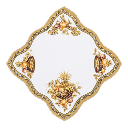 Obrus ovocia zlatá, 35 x 35 cm