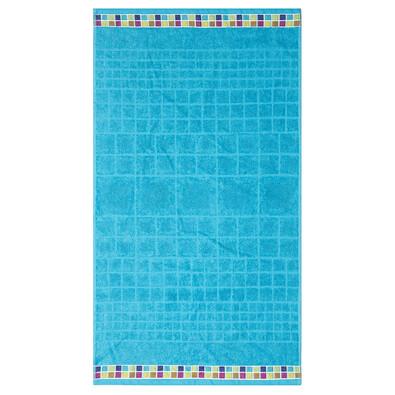 Ručník Mozaik tyrkys, 50 x 90 cm