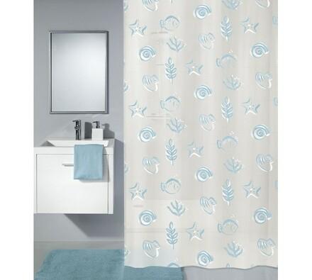 Koupelnový závěs Dive Meusch modrá, 180 x 200 cm