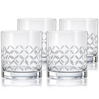 Crystalex CXBR778 4dílná sada sklenic na whisky, 280 ml