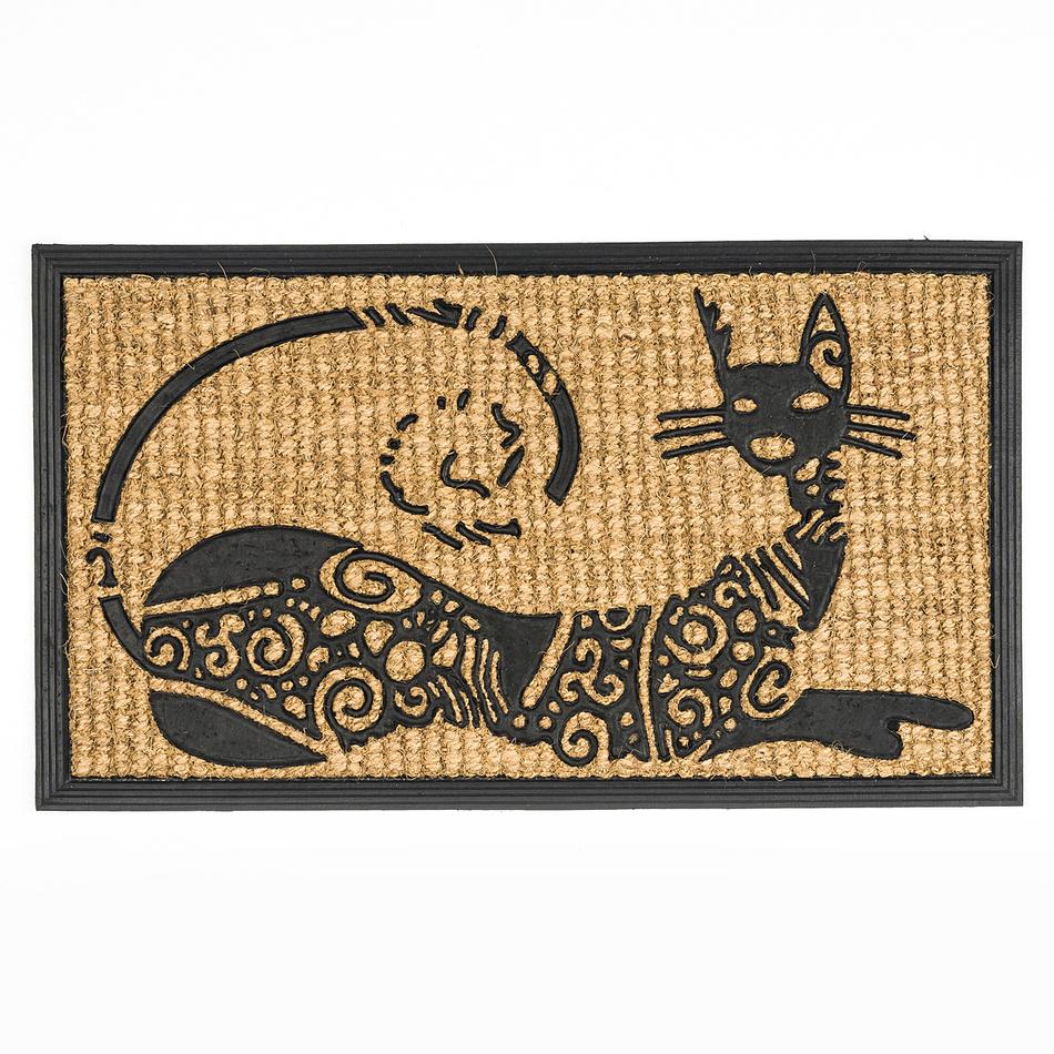 BO-MA Trading Rohožka slabá ležiace mačka, 40 x 70 cm