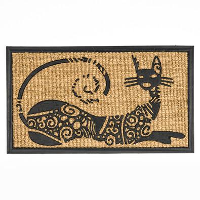 Rohožka Ležící kočka, 40 x 70 cm