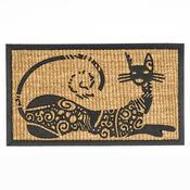 Rohožka slabá ležící kočka, 40 x 70 cm