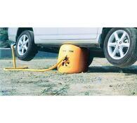 Nafukovací zvedák auta, oranžová