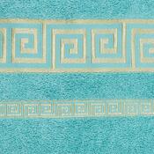 Osuška Atény tyrkys, 70 x 140 cm