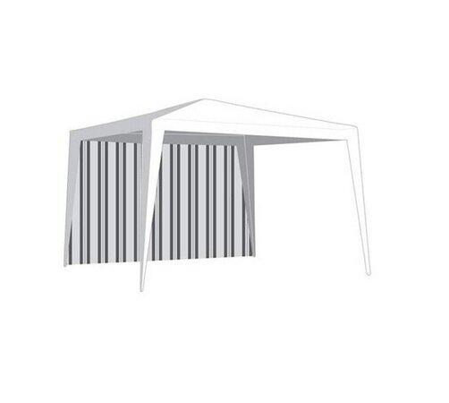 Kerti sátor oldal, ablak nélkül vonalakkal 2,95 x 1,9 m