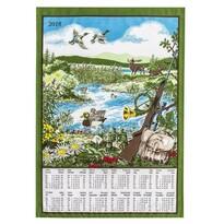 Textilný kalendár 2016 Poľovnícky, 45 x 65 cm